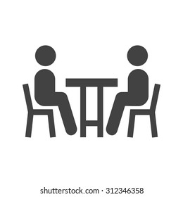 Business, meeting, people icon vector image. Can also be used for activities. Suitable for use on web apps, mobile apps and print media.