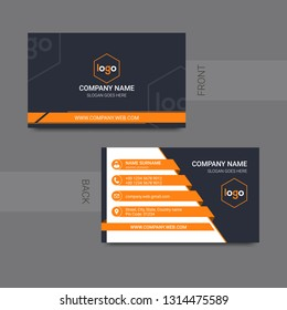 business model name card, business card modern design vector - Vector