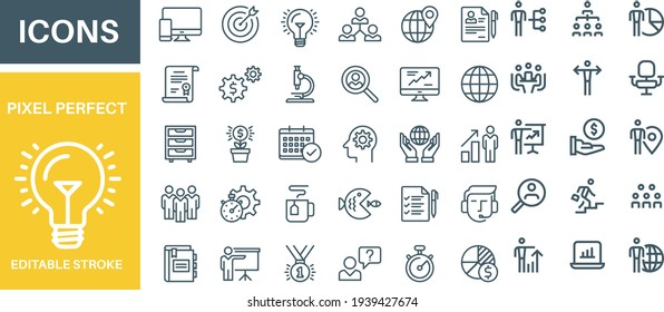 Business and Office icons vector design
