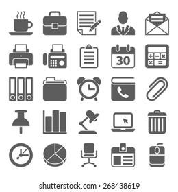 Business Office  organization Icon Set