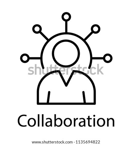 business opportunities diagram line icon stock vector royalty free Basket Icon business opportunities diagram line icon