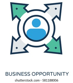 Business Opportunity Vector Icon
