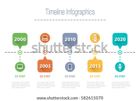 Business overview visualization timeline infographic data stock business overview visualization timeline infographic data business template for presentation vector infographics wajeb Images