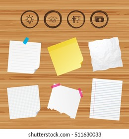 sticky notes brainstorming stock vectors images vector art