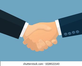 Business Partnership Vector Illustration