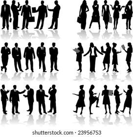 Business people 2 vector work