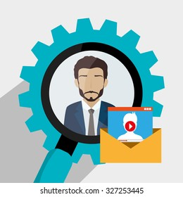 business people design, vector illustration eps10 graphic