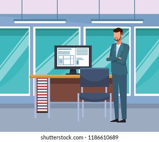 Business people at office