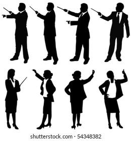 business people presentation