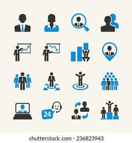 Business People - web icon collection