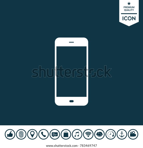 Business Phone with blank screen