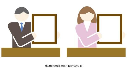 business pictogram icon