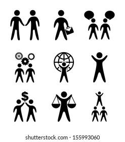 business planner over white background vector illustration