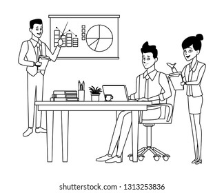 business presentation businessman
