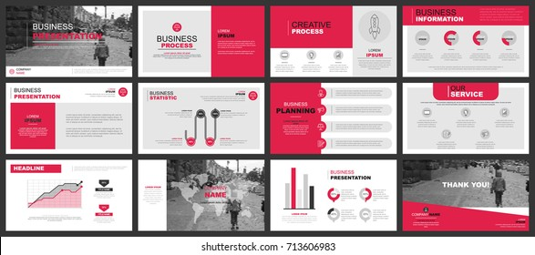 Presentation images stock photos vectors shutterstock business presentation slides templates from infographic elements can be used for presentation flyer and accmission Choice Image
