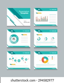 presentation template images, stock photos & vectors | shutterstock, Powerpoint Template Corporate Presentation, Presentation templates