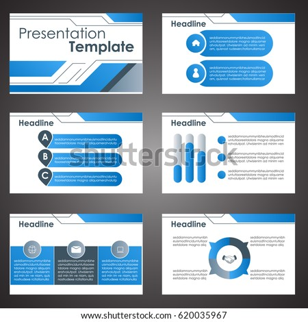 Business presentation template setpowerpoint template design stock business presentation template setpowerpoint template design backgrounds wajeb Gallery