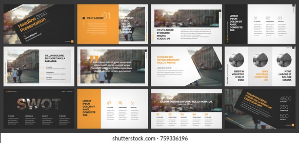 Business presentation templates elements on a white background. Vector infographics. Use in Presentation, flyer and leaflet, corporate report, marketing, advertising, annual report, banner.