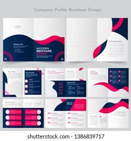 Business Profile Brochure Design Template
