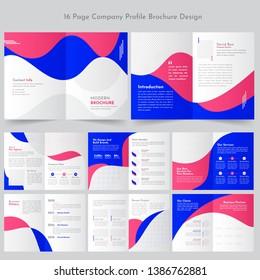 Business Profile Brochure Template Design