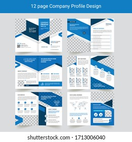 Business Profile or Corporate Business Brochure
