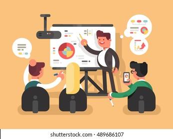 Business report presentation