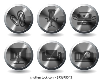 Business simple vector icons