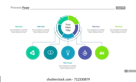 Business structure slide template