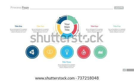 Business structure slide template stock vector royalty free business structure slide template wajeb Gallery