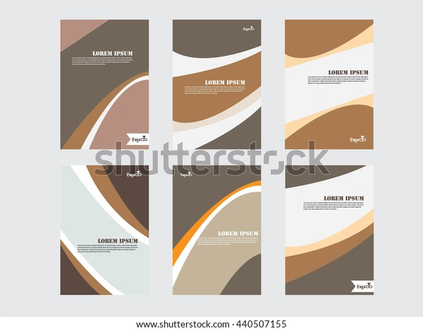 Business Style Corporate Identity Leterhead Template.template design.vector illustration.
