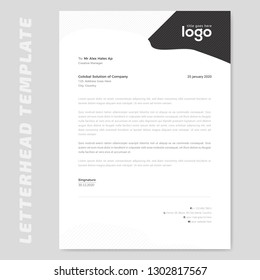 Business style letter head templates for your project design, Vector illustration. - Vector