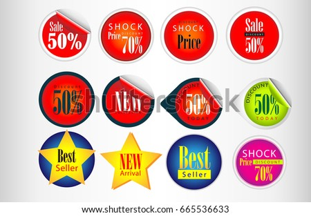 business style templates sale price tag stock vector royalty free
