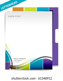 Business style templates, Vector illustration