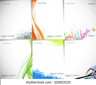 Business style templates for your project design, Vector illustration.