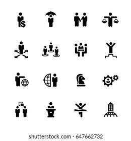 Business Success Icons // Black Series - Vector icons for your digital or print projects.