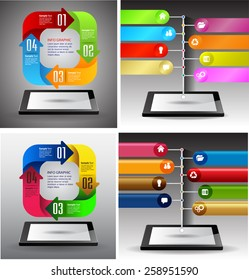 Business technology bubble speech template style. idea. text box. time line. many, various