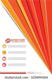 Business template design