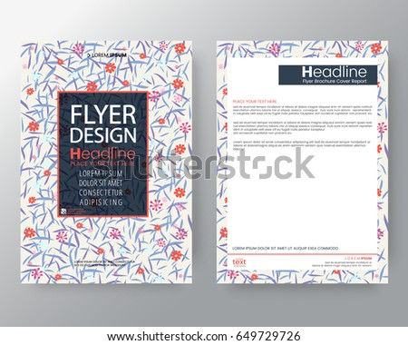 business templates creative design vintage background for corporate identity brochure annual report cover flyer poster design layout vector template in