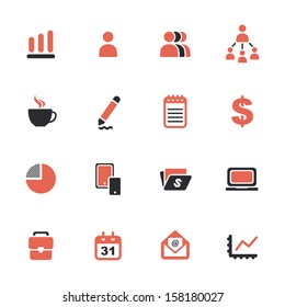 Business theme icons
