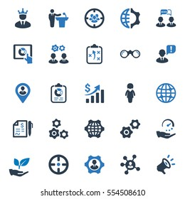 Business Ultimate Icons - Blue Series (Set 3)