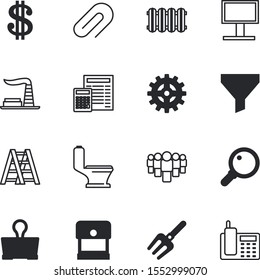business vector icon set such as: fast, appliance, retro, countdown, experiment, production, manufacturing, container, employees, race, school, set, motion, coin, yes, bottleneck, environment