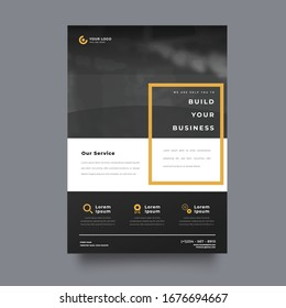 Business vector set. Brochure template layout, cover design annual report, flyer in A4 with colourful geometric shapes for PR, business, tech on bright background. Abstract creative design