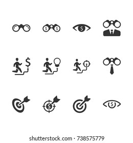 Business Vision Icons
