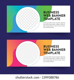 business web banner template design