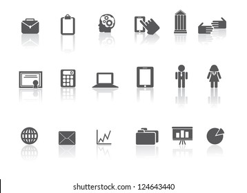Business Web Icon Symbol  set