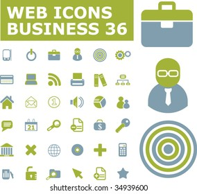 business web icons. vector