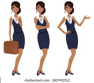 Latina Businesswoman Clipart Cartoon Images Stock Photos Vectors Shutterstock