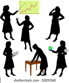 business woman - vector