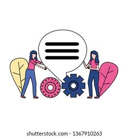 business women gears