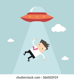 Businessman abducted by UFO